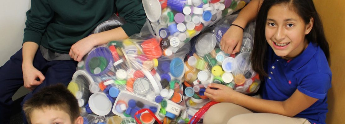 Bottle Caps to Benches