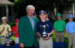 Lexington School student competes at The Masters