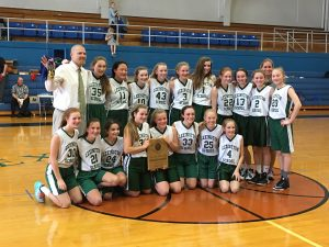 The Lexington School Girls Basketball Champions