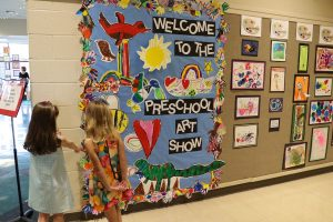 Preschool Art Show The Lexington School