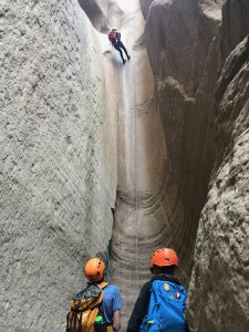 The Lexington School canyoneering Utah