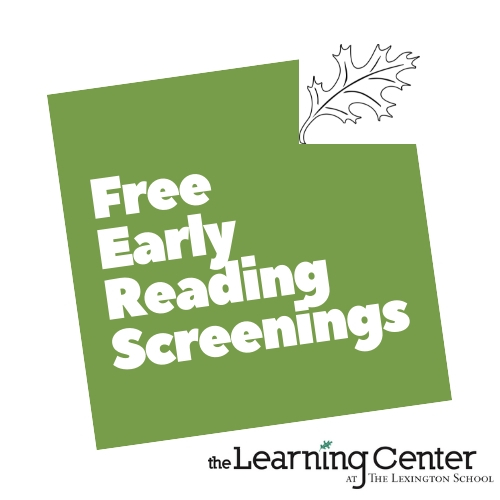 Free early reading screenings help identify learning differences in children so early intervention can take place. The Lexington School. Dyslexia.