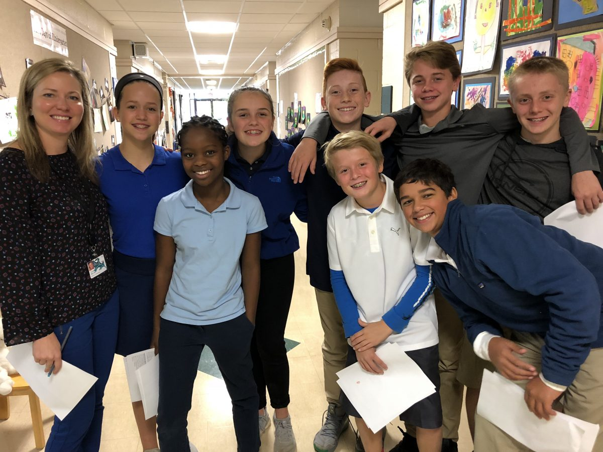 Student Tour Guides Show the Way on Prospective Family Day at The Lexington School