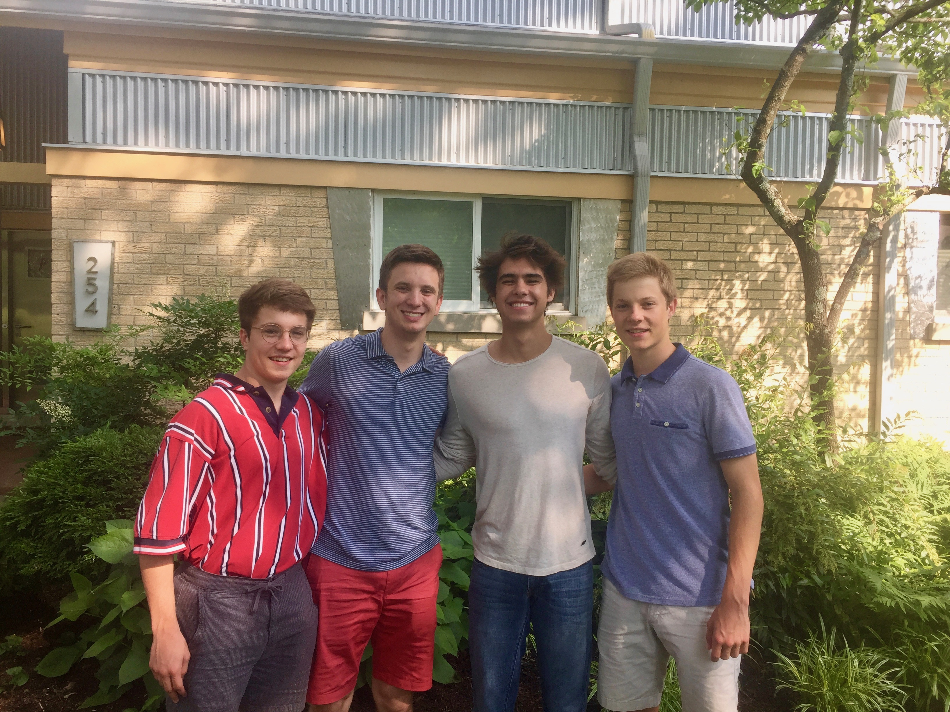 FOUR VALEDICTORIANS from The Lexington School class of 2015