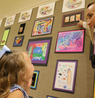 Preschool Art Show Celebrates Creativity [Video][Photos]