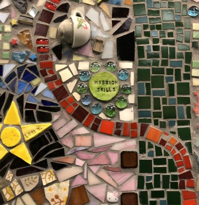 One Common Thread: Mosaic Mural is More than Meets the Eye